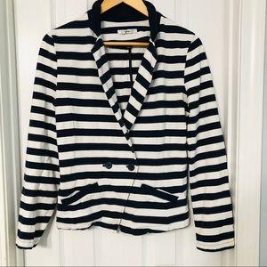 Nautical Striped Blazer
